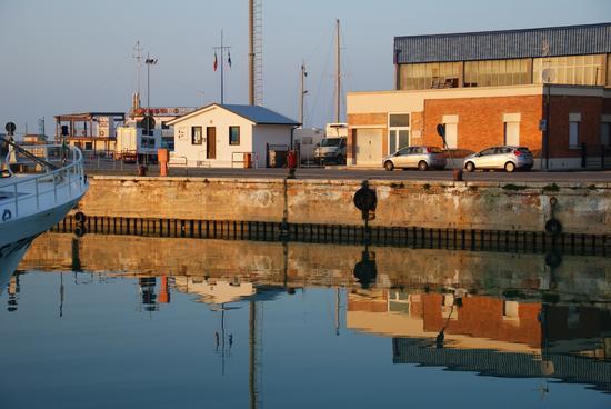 Porto canale di Fano (1035 clic)