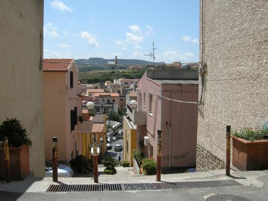 Viabilità del nuovo borgo - Castelsardo (2095 clic)