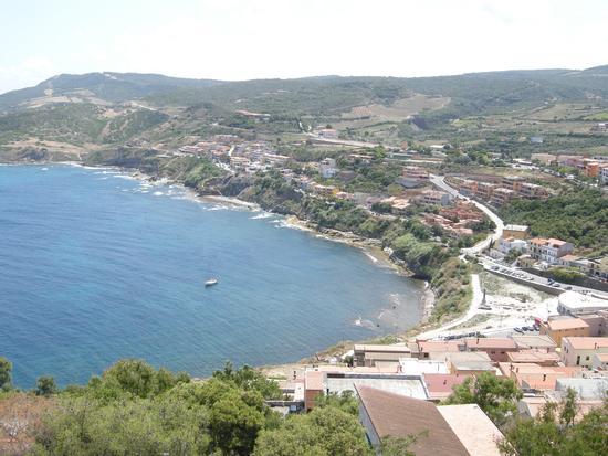 Il mare di Levante visto dal Bastione - Castelsardo (2309 clic)