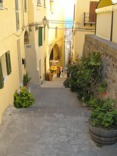 Viuzza nel Borgo antico - Castelsardo (2039 clic)