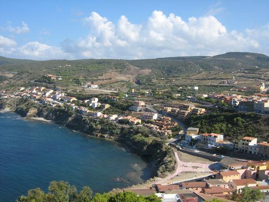 Castelsardo - Panorama costa est con La Vignaccia (2642 clic)