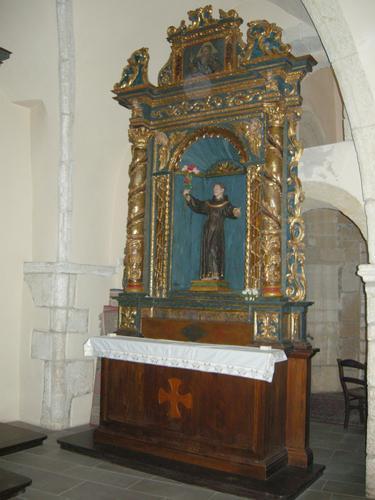 Castelsardo - Chiesa di Santa Maria - Altare ligneo 3 (2411 clic)