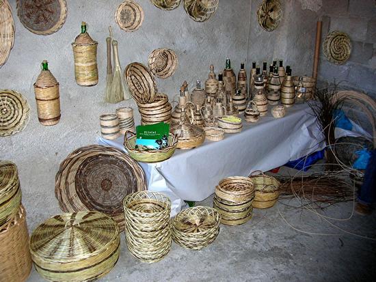 Ollolai - Autunno in Barbagia - La casa dei cestini (1093 clic)