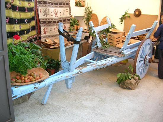 Sarule - Autunno in Barbagia - Antico carro a buoi (2167 clic)