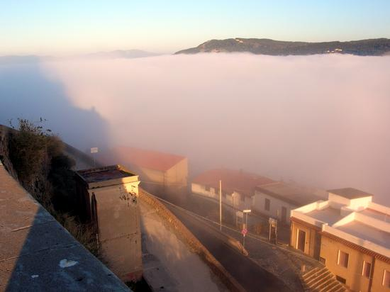 Castelsardo - Nebbia sul mare (2185 clic)