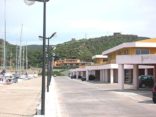 Castelsardo - Banchina del porto (2184 clic)