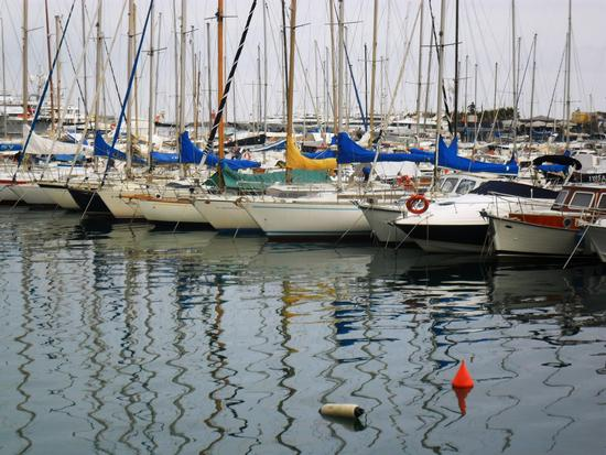 barche in riposo - Imperia (2116 clic)