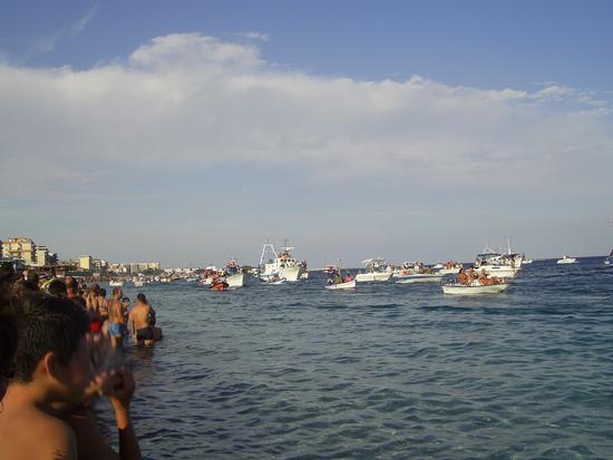 festa della Madonna a mare di Porto salvo - Catanzaro (2685 clic)