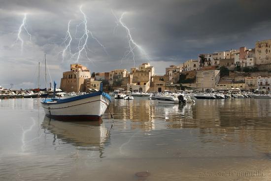 Temporale a Castellammare del Golfo (6341 clic)