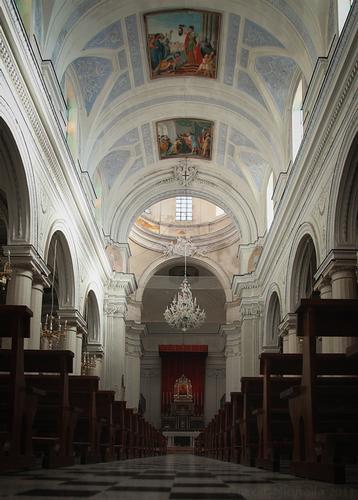 Interno Chiesa Matrice  - Caltagirone (3930 clic)