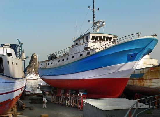 Cantiere delle barche - Aci trezza (5388 clic)