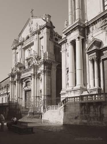 Chiesa di San Benedetto.Via Crociferi - Catania (5786 clic)