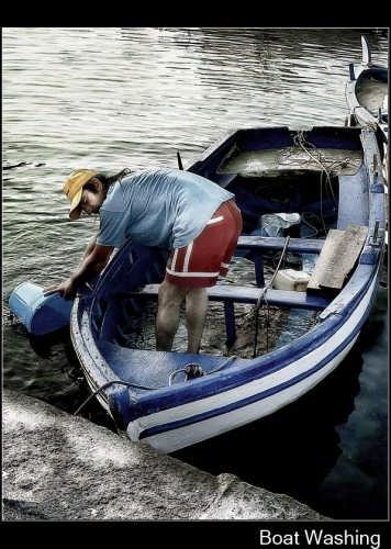 Lavaggio della barca - Catania (2849 clic)