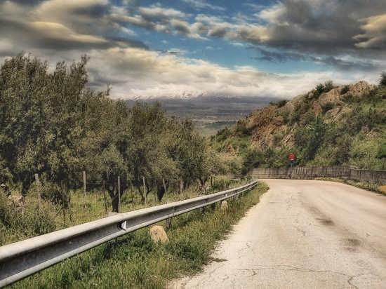 Strada di Regalbuto che porta a Centuripe (3472 clic)