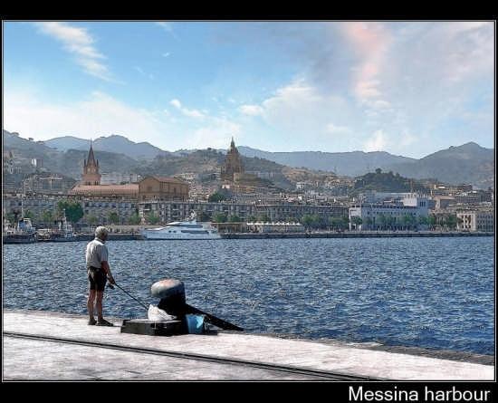Messina il porto (5142 clic)