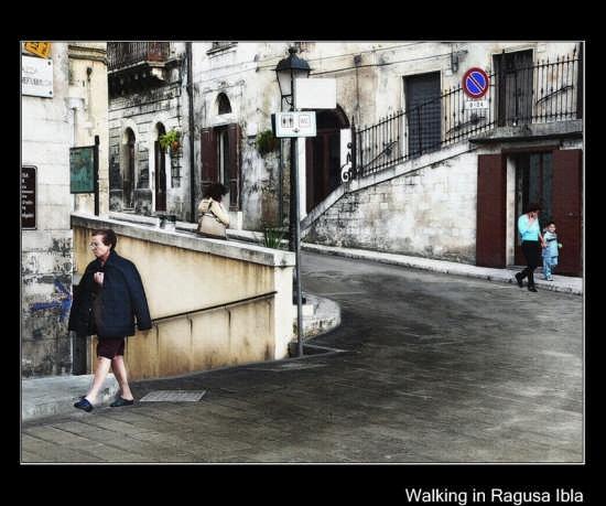 Piazza della Repubblica   RAGUSA   Fotografia di Orazio Minnella