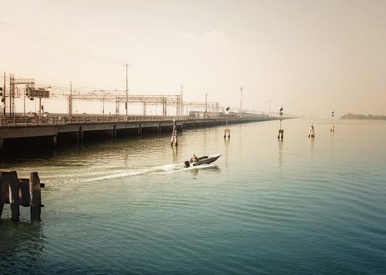 Venezia ed il ponte ferroviario (3729 clic)