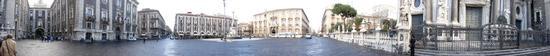 Piazza Duomo vista a 360° - Catania (1881 clic)