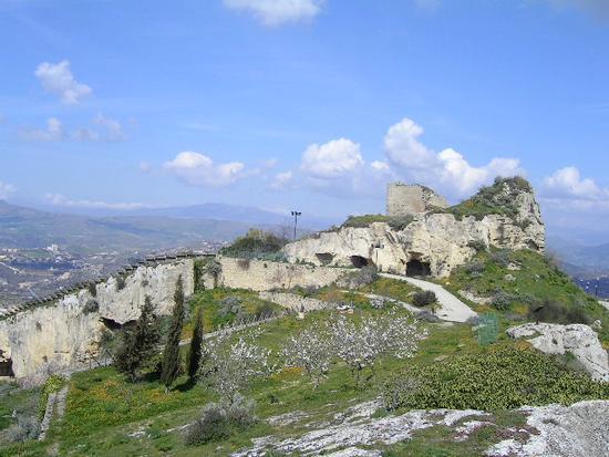 rocca del castello - Assoro (2685 clic)