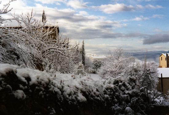 Una nevicata - Assoro (2661 clic)