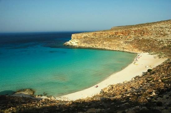 SPIAGGIA DEI CONIGLI - Lampedusa (8095 clic)