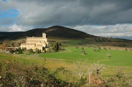 ABBAZIA DI SANT'ANTIMO - Montalcino (9806 clic)