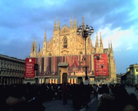 Duomo - Milano (28113 clic)