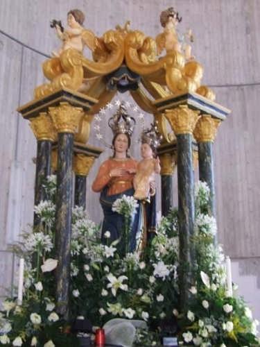 statua della Madonna delle Grazie - Montevago (6852 clic)