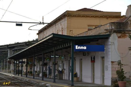 Enna - Stazione di Enna (4225 clic)