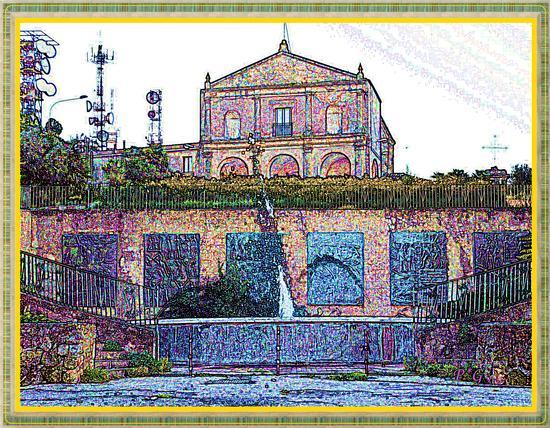 Enna - Chiesa di Montesalvo. (3743 clic)