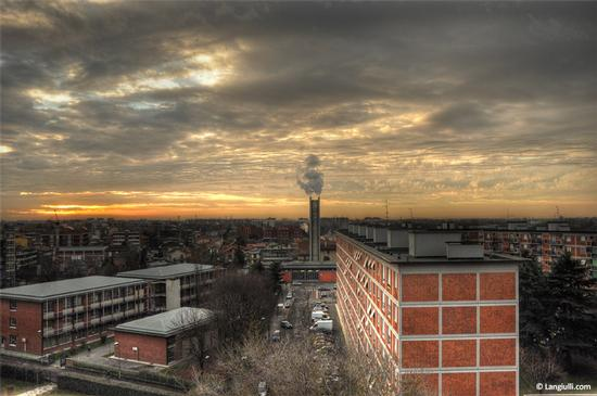 Cloudy Sunrise - Milano (2834 clic)