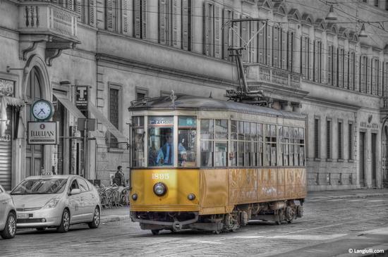 Tram n° 1895 - Milano (1675 clic)