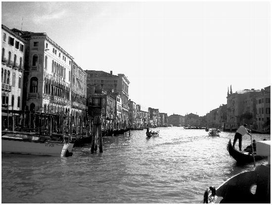 Sul canal grande. Venezia (1803 clic)