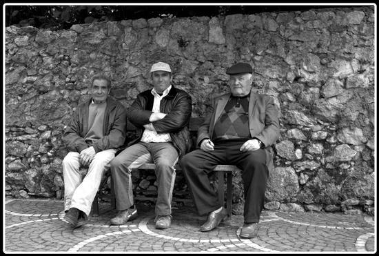 Ricordando chi è emigrato. Volturara I. - Avellino (1981 clic)