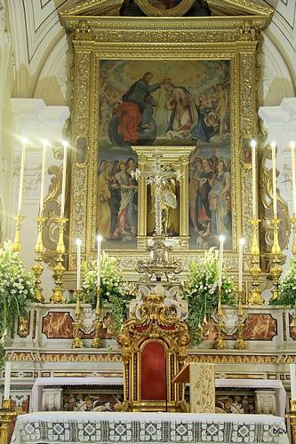 Altare maggiore - Solofra (1901 clic)