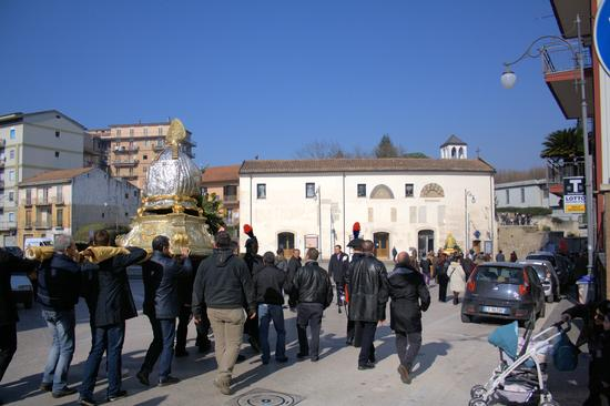 Processione di San Sabino e San Romolo patroni di Atripalda (AV) (2059 clic)