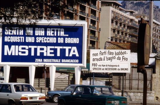 Palermo 1981 La rotonda di viale Lazio (3223 clic)
