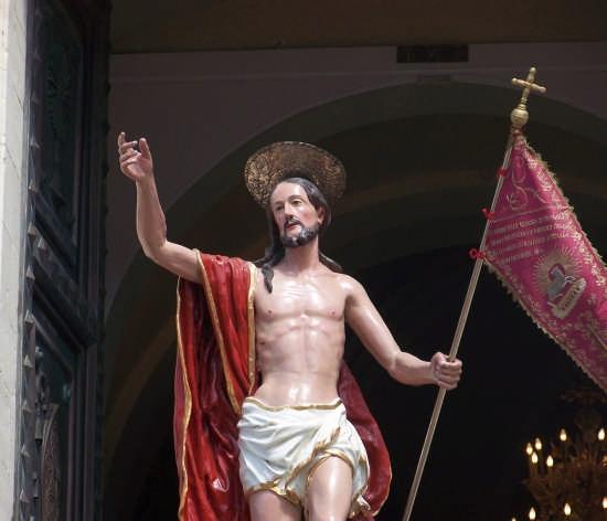 La resurrezione di Gesù -Pasqua 2008 - Buccheri (4706 clic)