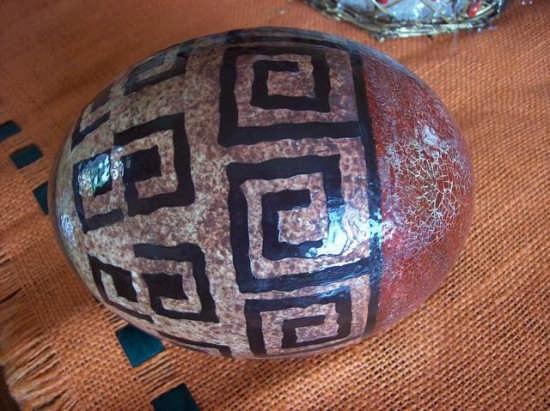 Uovo di struzzo - Buccheri (2895 clic)