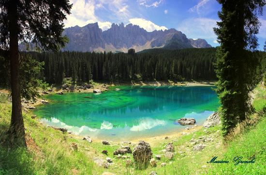 Lago alla....menta  - Carezza al lago (3524 clic)