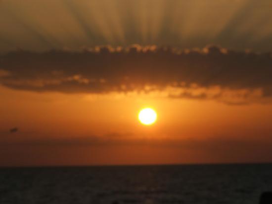tramonto bizzarro - Marausa lido (2074 clic)
