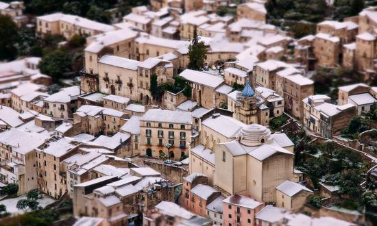 Piedimonte Matese: Centro storico Innevato (3315 clic)