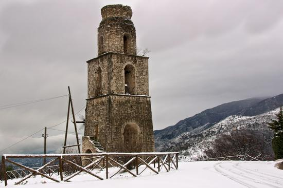 San Pasquale innevato - Piedimonte matese (3422 clic)