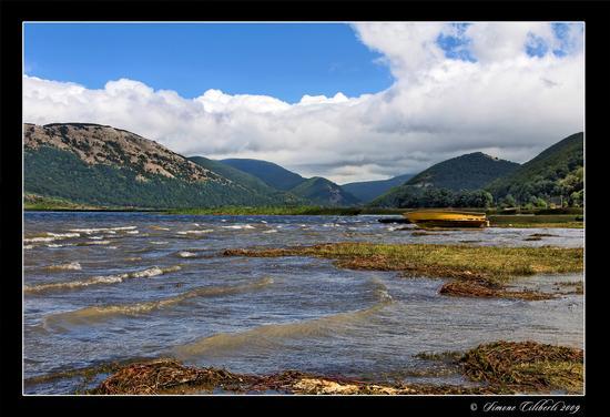 Lago matese: giornata ventosa - Lago del matese (2253 clic)