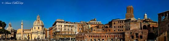 Roma: Panorama Fori di Traiano (1361 clic)