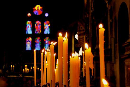 Scattata all'interno di una bellissima Chiesa di Siena. (1352 clic)
