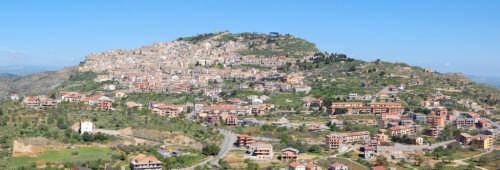 Panoramica Assoro (2089 clic)