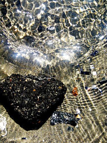Il cuore... nell'acqua - Fiumicino (2714 clic)