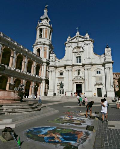 Basilica della Santa Casa - Loreto (2625 clic)