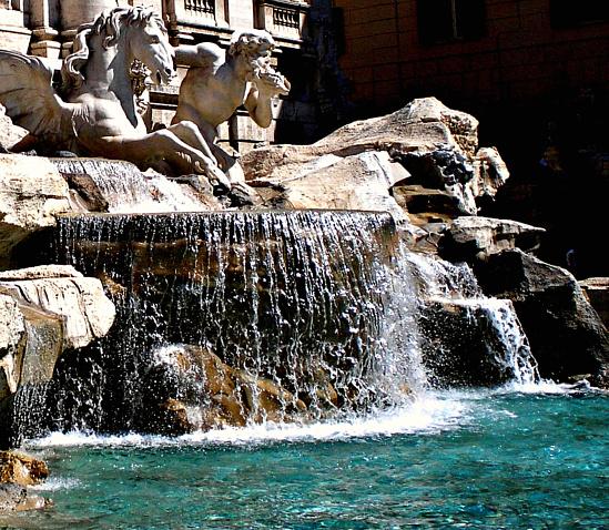 Fontana di Trevi - Roma (3828 clic)
